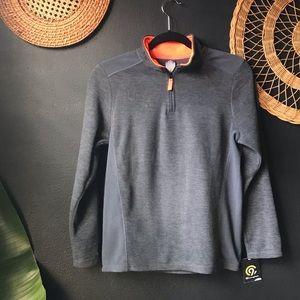 Boys Champion brand zip pullover sweater